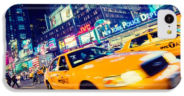 New York - Times Square IPhone 5c Case by Alexander Voss