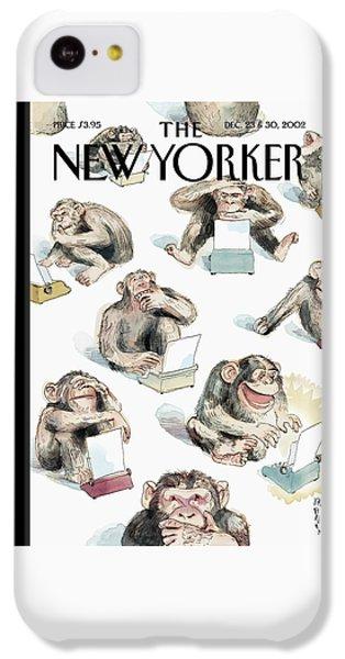 New Yorker December 23rd, 2002 IPhone 5c Case