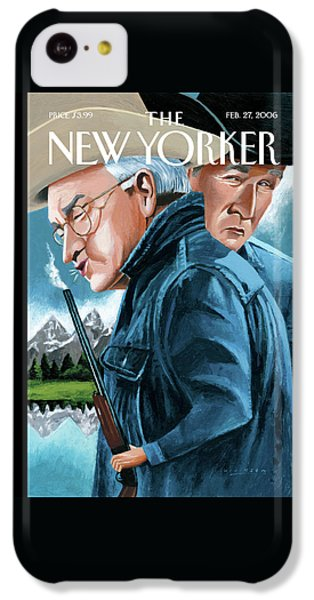 New Yorker February 27th, 2006 IPhone 5c Case by Mark Ulriksen