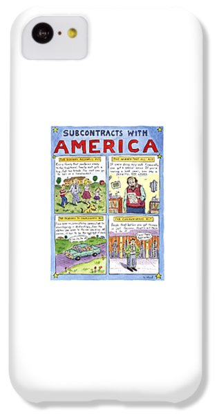 New Yorker January 16th, 1995 IPhone 5c Case