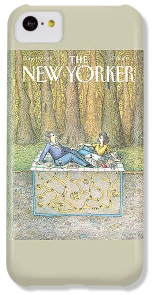 Ant iPhone 5c Case - New Yorker June 15th, 1992 by John O'Brien