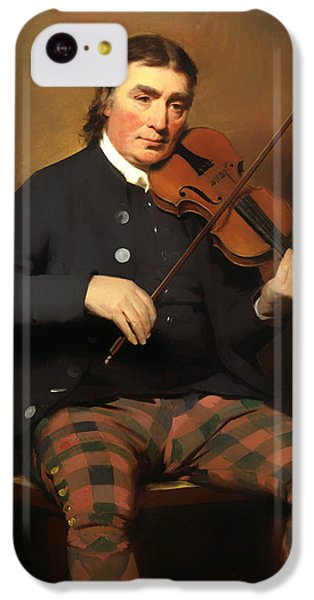 Violin iPhone 5c Case - Niel Gow - Violinist And Composer by Mountain Dreams