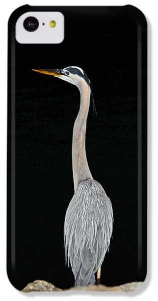 IPhone 5c Case featuring the photograph Night Of The Blue Heron 3 by Anthony Baatz