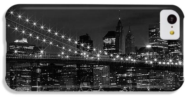 Night-skyline New York City Bw IPhone 5c Case