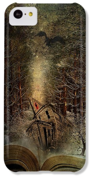 Night Story IPhone 5c Case by Svetlana Sewell