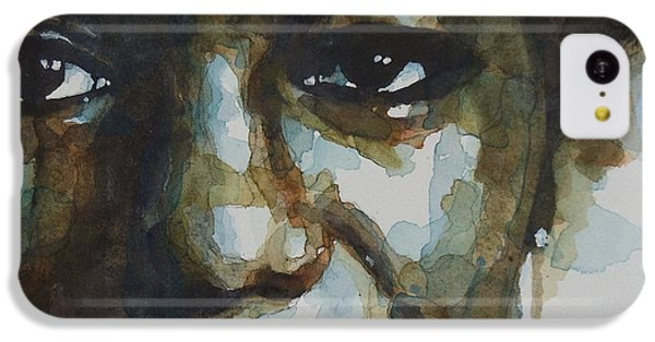 Jazz iPhone 5c Case - Nina Simone Ain't Got No by Paul Lovering