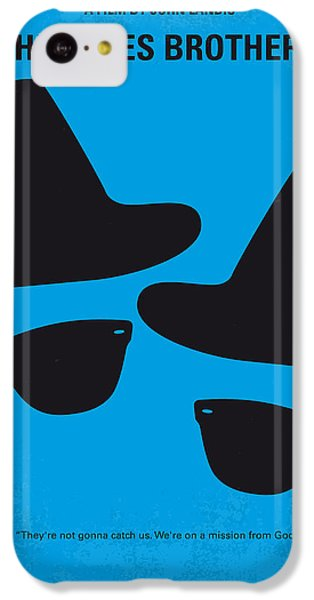 No012 My Blues Brother Minimal Movie Poster IPhone 5c Case