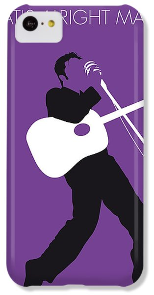 No021 My Elvis Minimal Music Poster IPhone 5c Case
