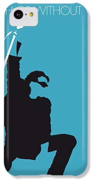 Bono iPhone 5c Case - No035 My U2 Minimal Music Poster by Chungkong Art