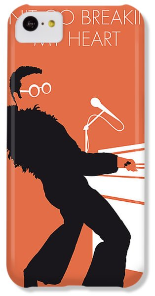 Musicians iPhone 5c Case - No053 My Elton John Minimal Music Poster by Chungkong Art