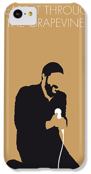 Knight iPhone 5c Case - No060 My Marvin Gaye Minimal Music Poster by Chungkong Art