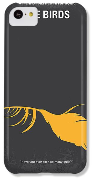 Seagull iPhone 5c Case - No110 My Birds Movie Poster by Chungkong Art