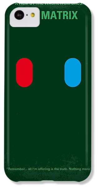 No117 My Matrix Minimal Movie Poster IPhone 5c Case by Chungkong Art