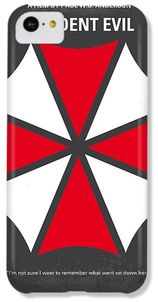 No119 My Resident Evil Minimal Movie Poster IPhone 5c Case by Chungkong Art