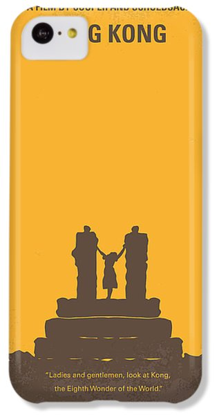 No133 My King Kong Minimal Movie Poster IPhone 5c Case