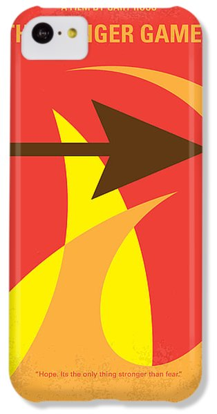 Apple iPhone 5c Case - No175 My Hunger Games Minimal Movie Poster by Chungkong Art