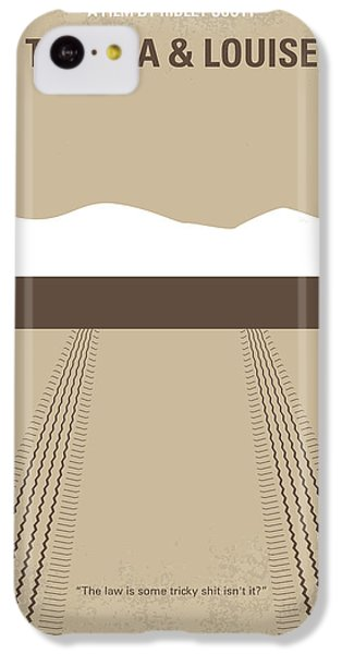 No189 My Thelma And Louise Minimal Movie Poster IPhone 5c Case
