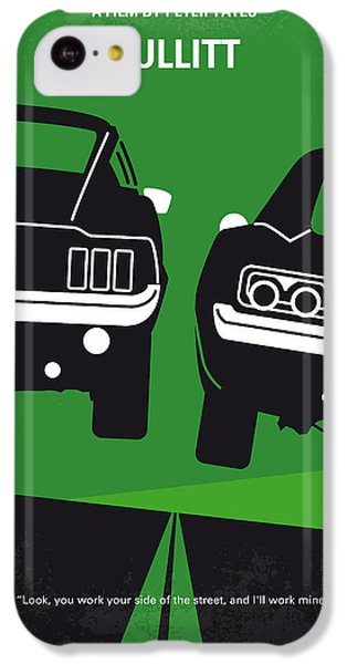 Hollywood iPhone 5c Case - No214 My Bullitt Minimal Movie Poster by Chungkong Art