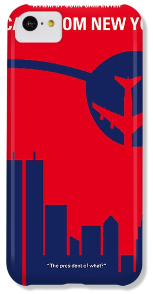 No219 My Escape From New York Minimal Movie Poster IPhone 5c Case