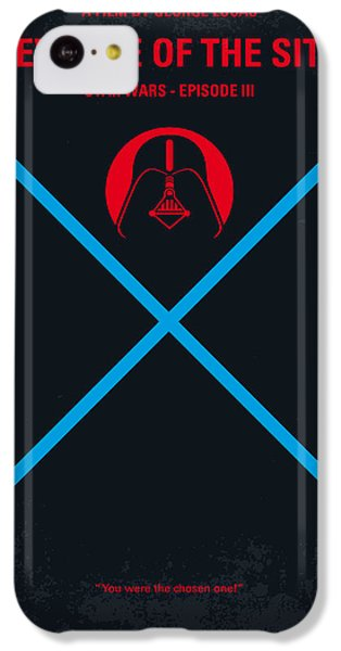 Knight iPhone 5c Case - No225 My Star Wars Episode IIi Revenge Of The Sith Minimal Movie Poster by Chungkong Art