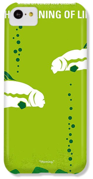 Python iPhone 5c Case - No226 My The Meaning Of Life Minimal Movie Poster by Chungkong Art
