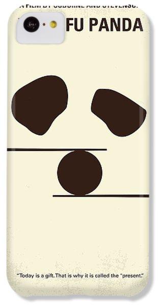 Dragon iPhone 5c Case - No227 My Kung Fu Panda Minimal Movie Poster by Chungkong Art