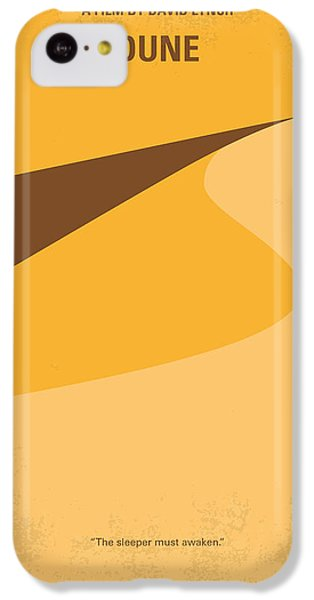 Desert iPhone 5c Case - No251 My Dune Minimal Movie Poster by Chungkong Art