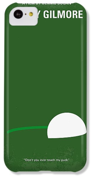 No256 My Happy Gilmore Minimal Movie Poster IPhone 5c Case by Chungkong Art