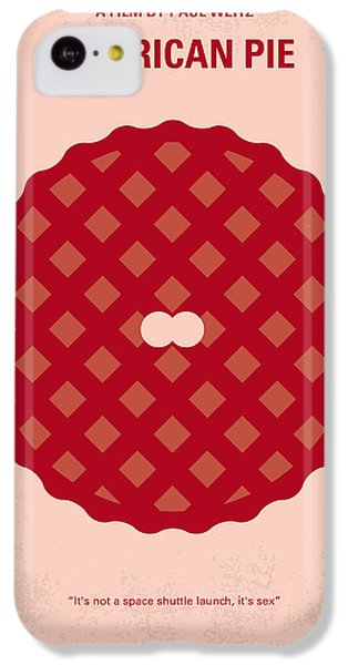 Finch iPhone 5c Case - No262 My American Pie Minimal Movie Poster by Chungkong Art