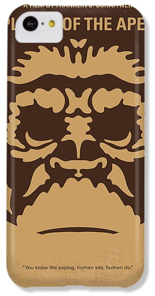 No270 My Planet Of The Apes Minimal Movie Poster IPhone 5c Case