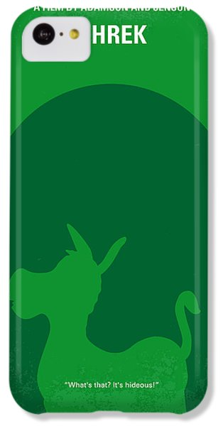 Fairy iPhone 5c Case - No280 My Shrek Minimal Movie Poster by Chungkong Art