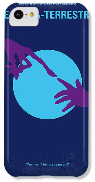 Aliens iPhone 5c Case - No282 My Et Minimal Movie Poster by Chungkong Art