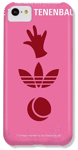 No320 My The Royal Tenenbaums Minimal Movie Poster IPhone 5c Case by Chungkong Art