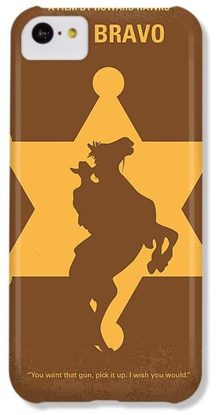Duke iPhone 5c Case - No322 My Rio Bravo Minimal Movie Poster by Chungkong Art