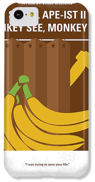 No356 My Serial Ape-ist Minimal Movie Poster IPhone 5c Case