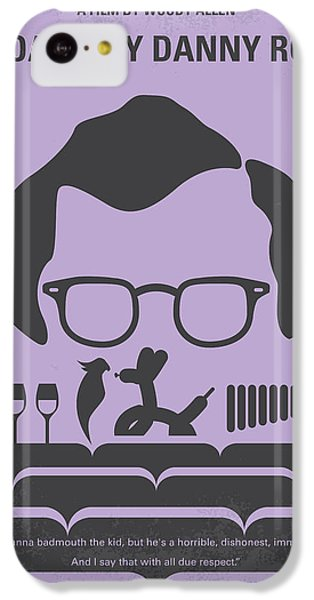 Floral iPhone 5c Case - No363 My Broadway Danny Rose Minimal Movie Poster by Chungkong Art