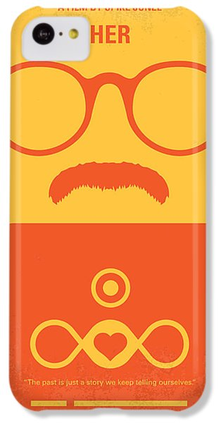 No372 My Her Minimal Movie Poster IPhone 5c Case by Chungkong Art