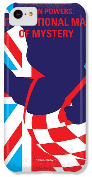 No373 My Austin Powers I Minimal Movie Poster IPhone 5c Case by Chungkong Art