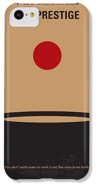 Magician iPhone 5c Case - No381 My The Prestige Minimal Movie Poster by Chungkong Art