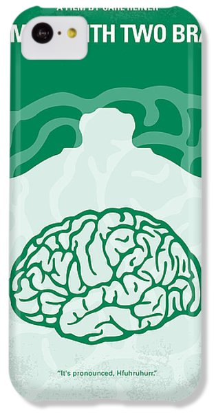 Doctor iPhone 5c Case - No390 My The Man With Two Brains Minimal Movie Poster by Chungkong Art