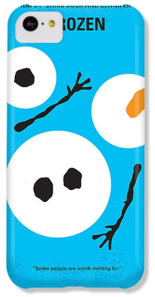 Magician iPhone 5c Case - No396 My Frozen Minimal Movie Poster by Chungkong Art