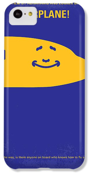 Airplane iPhone 5c Case - No392 My Airplane Minimal Movie Poster by Chungkong Art
