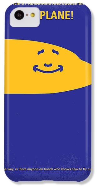 No392 My Airplane Minimal Movie Poster IPhone 5c Case by Chungkong Art