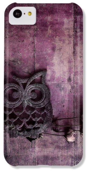 Nocturnal In Pink IPhone 5c Case by Priska Wettstein