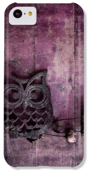 Nocturnal In Pink IPhone 5c Case by Priska Wettstein