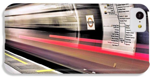 Northbound Underground IPhone 5c Case by Rona Black