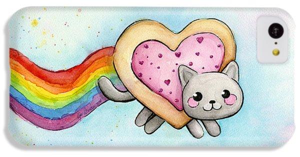 Nyan Cat Valentine Heart IPhone 5c Case