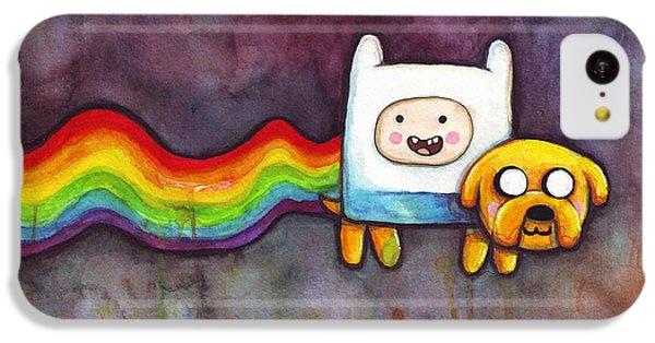 The iPhone 5c Case - Nyan Time by Olga Shvartsur