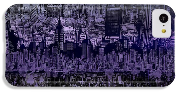 Nyc Tribute Skyline IPhone 5c Case