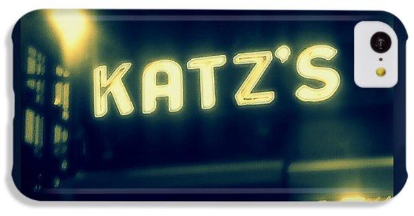 Nyc's Famous Katz's Deli IPhone 5c Case